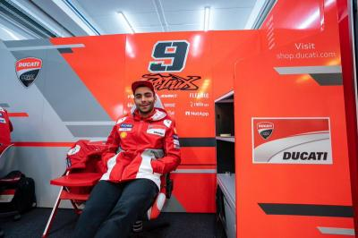 Tekad Petrucci Buat Kejutan di MotoGP Aragon 2019