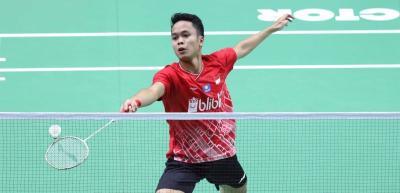 Anthony Ungkap Kunci Kemenangan di Babak Pertama China Open 2019