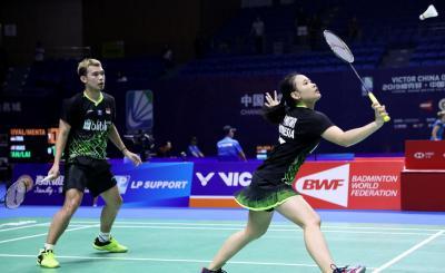 Langkah Rinov Pitha Terhenti di 16 Besar China Open 2019