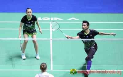 Tontowi Winny Komentari Keberhasilannya Lolos ke Perempatfinal China Open 2019