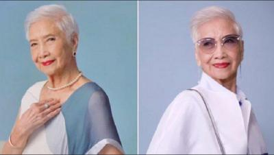 Alice Pang, Nenek Berusia 96 Tahun Jadi Model Tertua di Asia