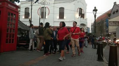 Kota Lama Semarang Sebentar Lagi Bebas Kendaraan Usai Direvitalisasi