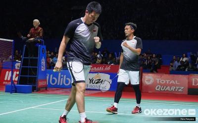Cedera Hantui Ahsan Hendra di Semifinal China Open 2019