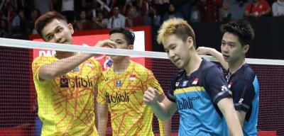 Fajar Rian Senang Bisa Lawan Marcus Kevin di Semifinal China Open 2019