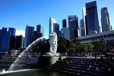 Ada Proyek Lanskap, Patung Merlion Tertinggi di Singapura Akan Ditutup Bulan Depan