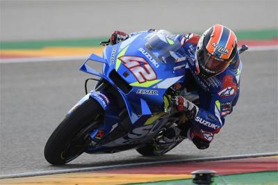 Start Posisi 13, Rins Tetap Optimis Jelang MotoGP Aragon 2019
