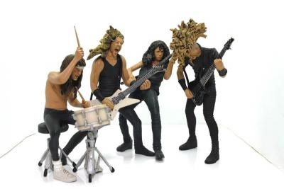 Dari Metallica hingga Anthrax, Ini 5 Action Figure Pencinta Band Metal
