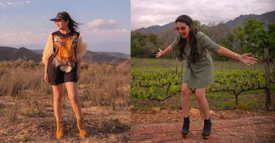Seksinya Ashanty Liburan ke Afrika Selatan Berbalut Outfit Safari Style