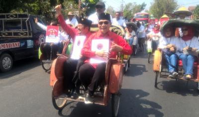 Purnomo-Teguh Kembalikan Berkas Pilkada ke PDIP Solo