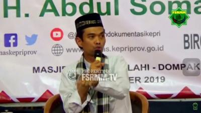 Ustadz Abdul Somad Menolak Salat Istisqa, Kenapa?