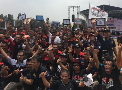 Jambore Suzuki Club 2019 Diramaikan Ribuan Peserta, Diwarnai Pengukuhan Komunitas Baru
