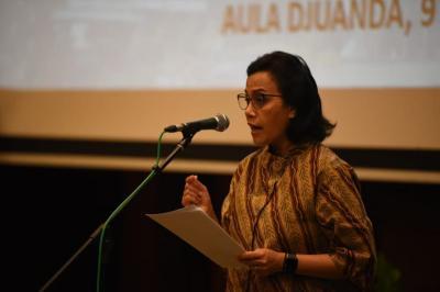 Sri Mulyani Tepis Penusukan Wiranto Pengaruhi Investasi