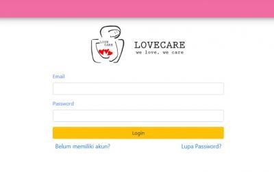 Aplikasi LoveCare Bantu Hubungkan Pasien dan Perawat Profesional