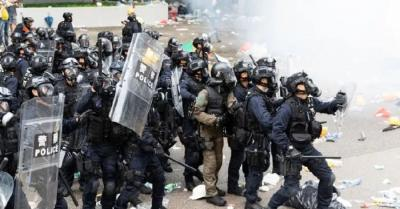 Apple Hapus Aplikasi yang Lacak Polisi dan Pendemo di Hong Kong