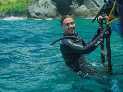 Hamish Daud Ajak Masyarakat Cegah Kepunahan Binatang Laut