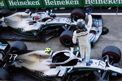 Mercedes Segel Gelar Juara Konstruktor F1 2019 Usai GP Jepang