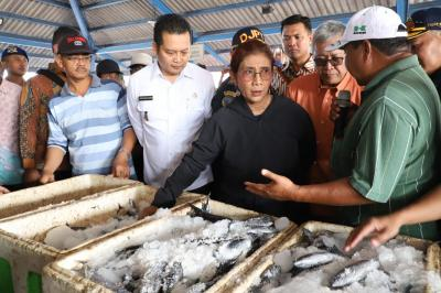 Jabatan Segera Berakhir, Menteri Susi Harap Kebijakan Penenggelaman Kapal Terus Dilakukan
