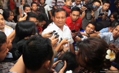 Prabowo: Perlu Penggabungan Semua Kekuatan untuk Bekerja demi Rakyat