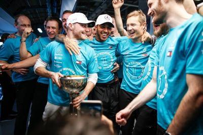 Bangganya Bottas yang Berhasil Bantu Mercedes Juarai Konstruktor F1 2019