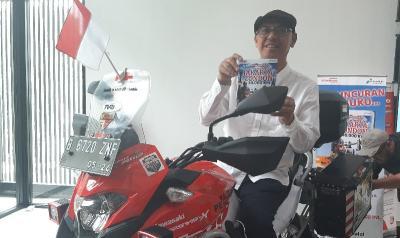 Cerita Stephen Langitan Touring Jakarta-London Seorang Diri, Sempat Lewati Rute Berbahaya