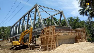 Pembangunan 6 Jembatan dan Jalan Lingkar Morotai Dilanjutkan