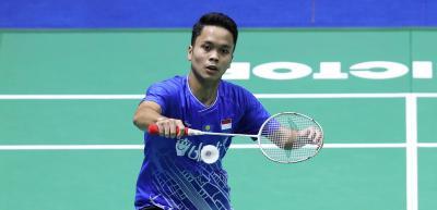 Kecewanya Anthony Tersingkir di Babak Pertama Denmark Open 2019