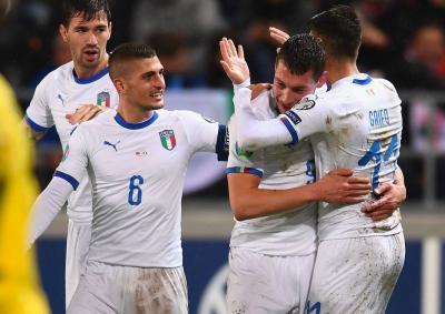 Timnas Italia Bantai Liechtenstein 5-0
