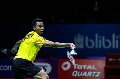 Hentikan Wakil Prancis, Tommy Sugiarto ke Perempatfinal Denmark Open 2019
