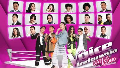Result Episode 15 The Voice Indonesia 2019, 8 Peserta Lolos ke Babak Live Around