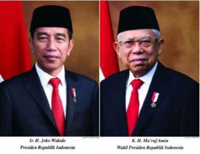 Foto Jokowi-Ma'ruf Marak Dijual Berbagai Versi Jelang Pelantikan Presiden