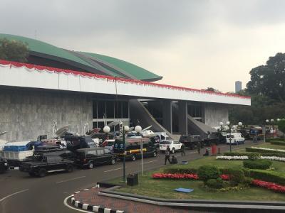 Begini Situasi di Gedung DPR MPR Jelang Pelantikan Jokowi-Ma'ruf