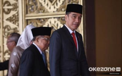 Jokowi Ucapkan Terima Kasih kepada Para Menteri dalam Perpisahan Kabinet Kerja