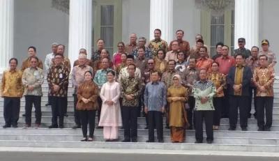 Perpisahan Kabinet Kerja, Jokowi: 5 Tahun Waktu yang Cepat