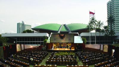 Jelang Pelantikan Presiden, Gedung DPR Sempat Mati Lampu