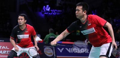 3 Wakil Ganda Putra Lolos ke Semifinal Denmark Open, Kejadian di China Open Terulang