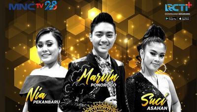 Duet Suci Dan Rita Sugiarto Hadirkan Arci di Panggung Grandfinal KDI 2019