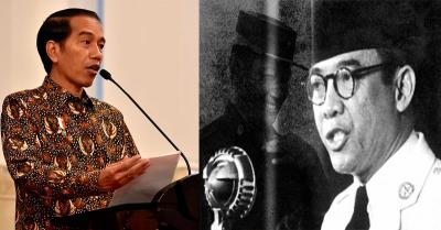 5 Kesamaan Jokowi dengan Presiden Pertama RI Soekarno