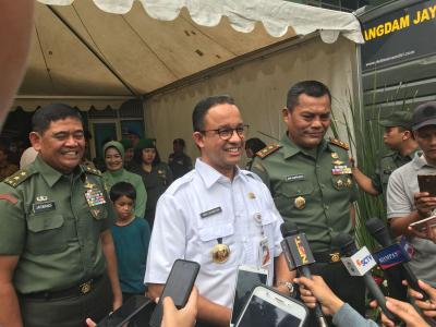 Pelantikan Presiden, Anies Bilang Warga Jakarta Bisa Beraktifitas seperti Biasa