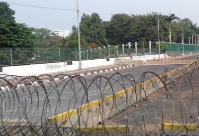 Pelantikan Presiden Jalur Sekitar Gedung DPR Ditutup, Berikut Pengalihan Arusnya