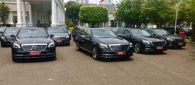 Pelantikan Presiden Jokowi Akan Menggunakan Mobil Mercedes Benz