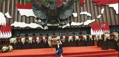 Mengenal Jinno Rauw, Pria yang Mendekor Ruang Pelantikan Jokowi-Ma'ruf
