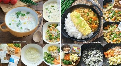 Vegetable Soup Cream dan Kare Jepang, Sajian Lezat Bergizi Bikin si Kecil Lahap Makan