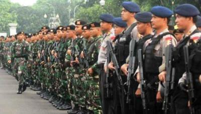 30.000 Personel Gabungan Dikerahkan Kawal Pelantikan Presiden dan Wapres 2019-2024
