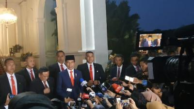 Jokowi Akan Langsung Lantik Menterinya Usai Diumumkan Besok