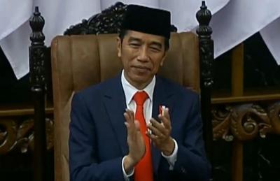 Tiba di Istana, Jokowi: Alhamdulillah, Pelantikan Berjalan Khidmat & Penuh Keagungan