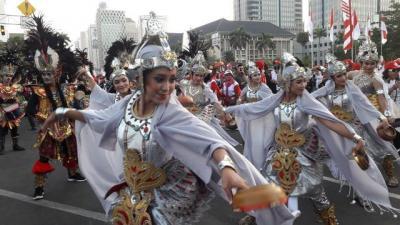 Ribuan Relawan Rayakan Pelantikan Jokowi-Ma'ruf