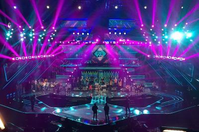 4 Diva Dangdut dan Wali, Buka Kemeriahan HUT MNCTV Ke-28