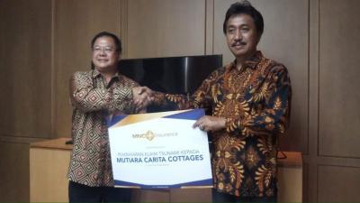 MNC Insurance Penuhi Kewajiban Klaim Mutiara Hitam Pertiwi Imbas Bencana Tsunami