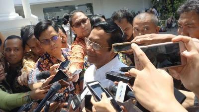 Usai Bertemu Jokowi, Mahfud MD Nyatakan Bersedia Jadi Menteri