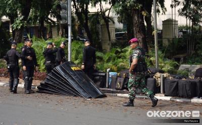 BEM SI Demo Istana Siang Ini, 1.500 Polri-TNI Dikerahkan untuk Pengamanan